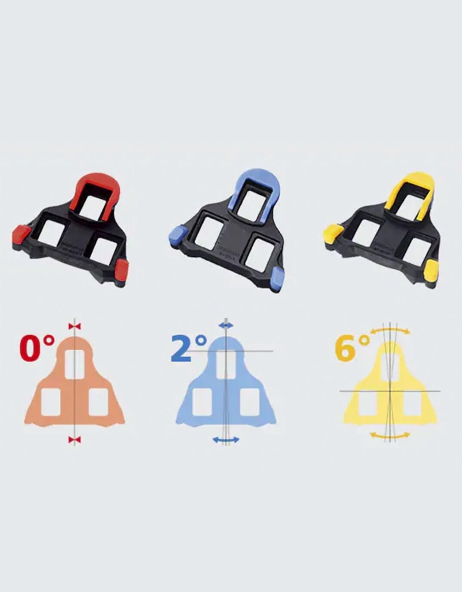 Shimano Cleats - Shimano SM-SH11 SPD-SL 6° Float Yellow