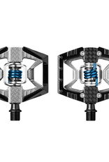 Crank Brothers Pedals - Crank Brothers Doubleshot Black/Raw/Blue Spring