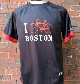T-Shirt - UA x Louis Garneau I Bike Boston Team Tee