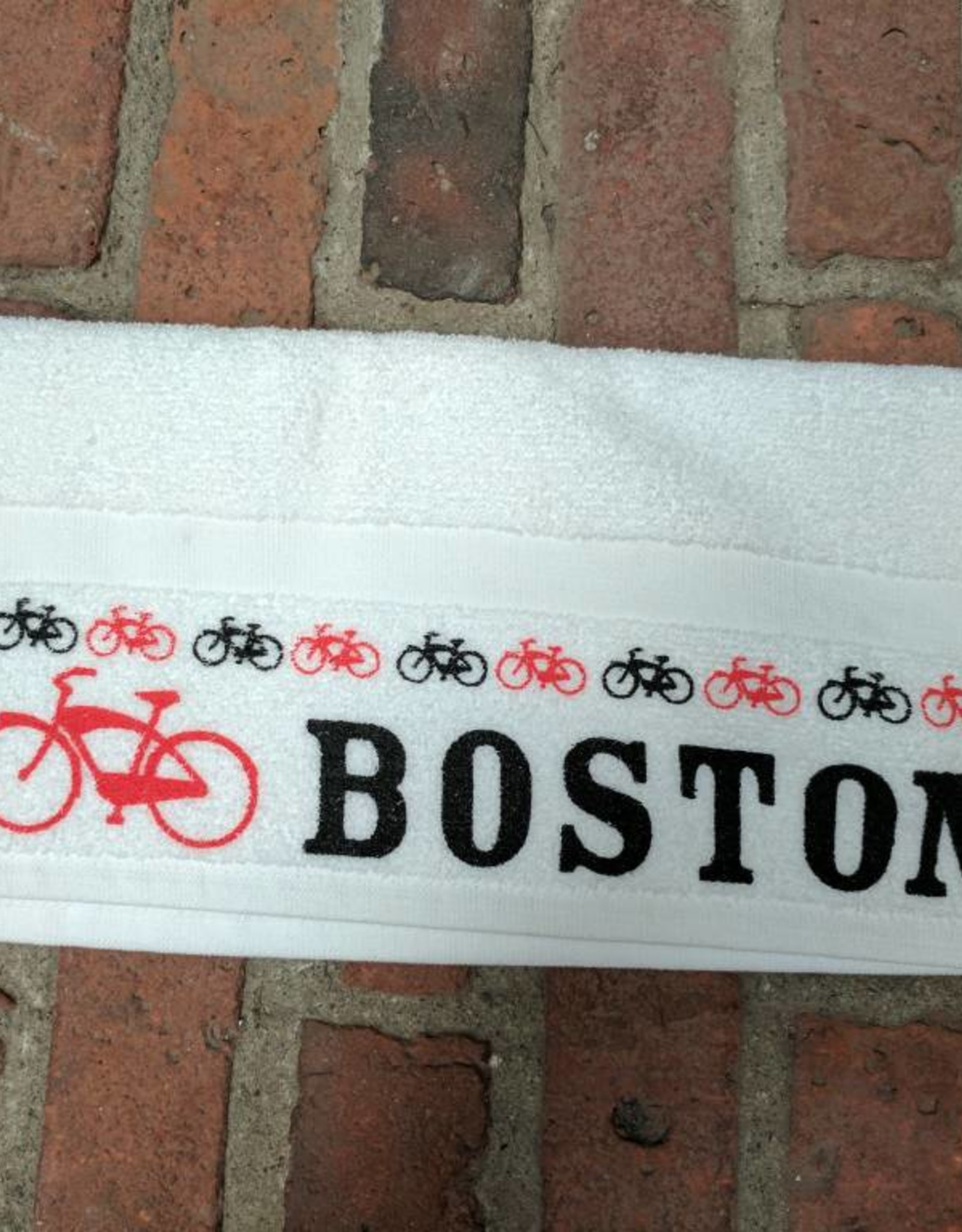 Towel - I bike Boston - UA spin towel