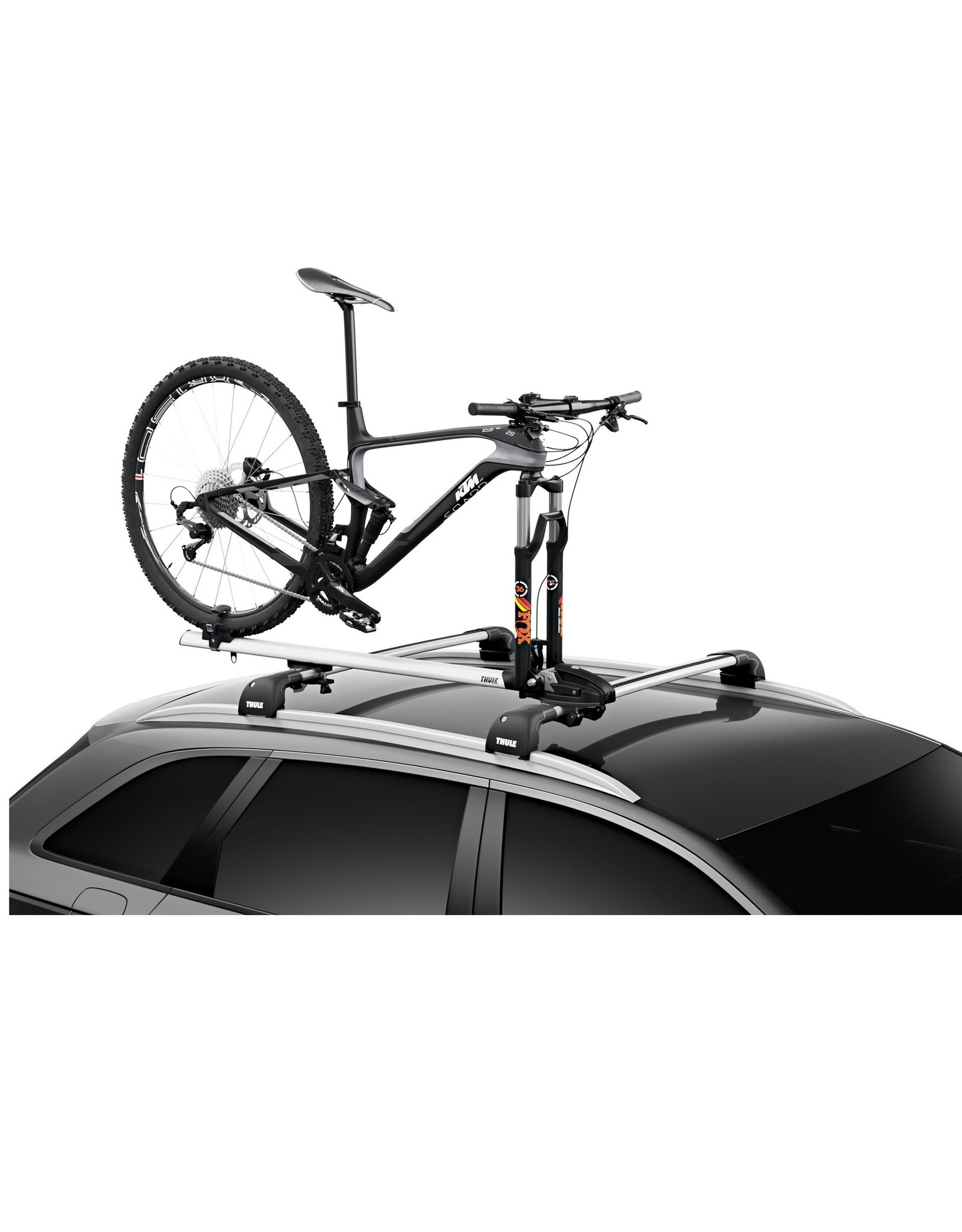 Car Rack - Thule ThruRide, QR/Thru Axle system Roof Rack (Single)