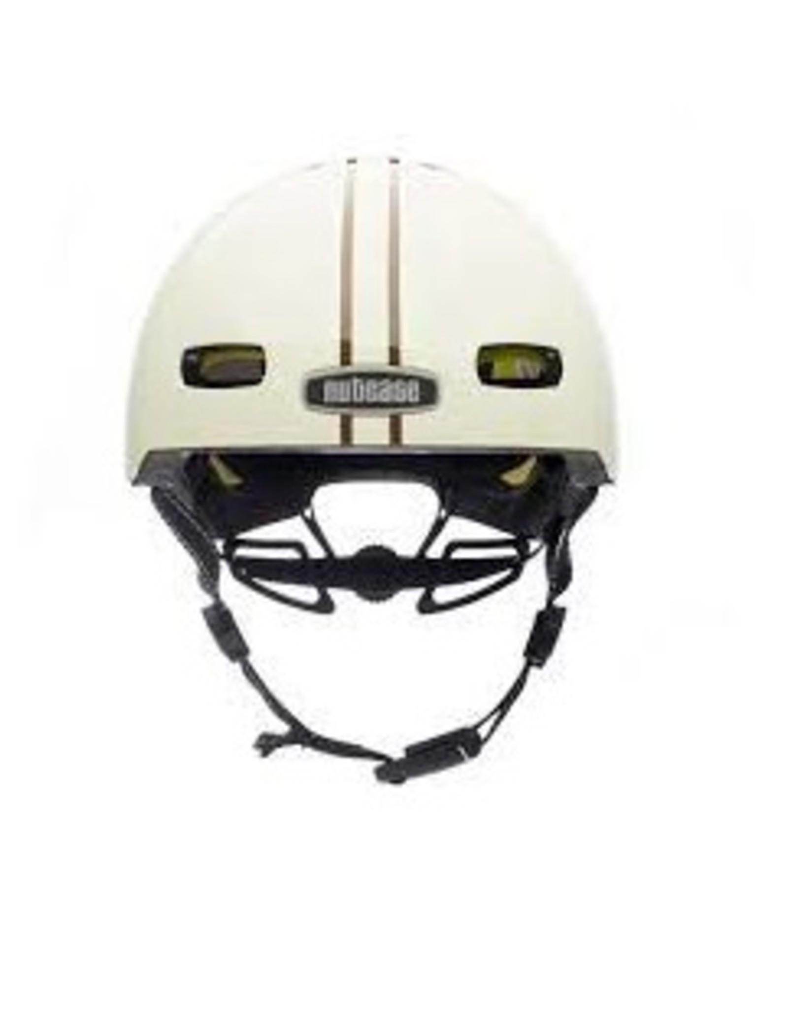 Nutcase Helmet - Nutcase Street Leather Bound Stripe MIPS
