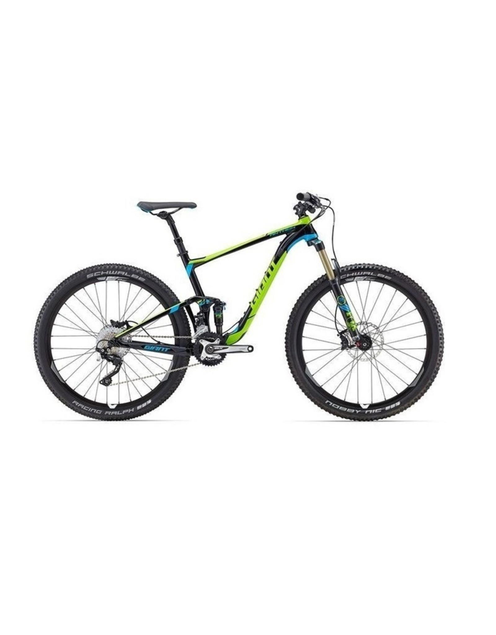 Giant Anthem SX 27.5 2016 Metallic Black/Green M Bicycle