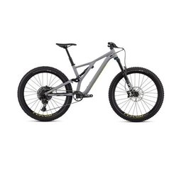 Specialized Stumpjumper FSR Comp 27.5 12-Speed 2020 Grey and Yellow Small