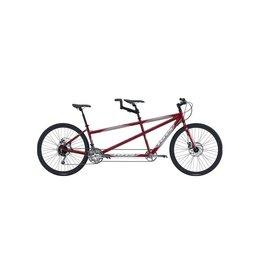 "KHS Cross Tandem Dark Red Small 20""x16"" Bicycle"