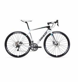 Giant Defy Advanced 2 2016 White/Black/Blue Bicycle