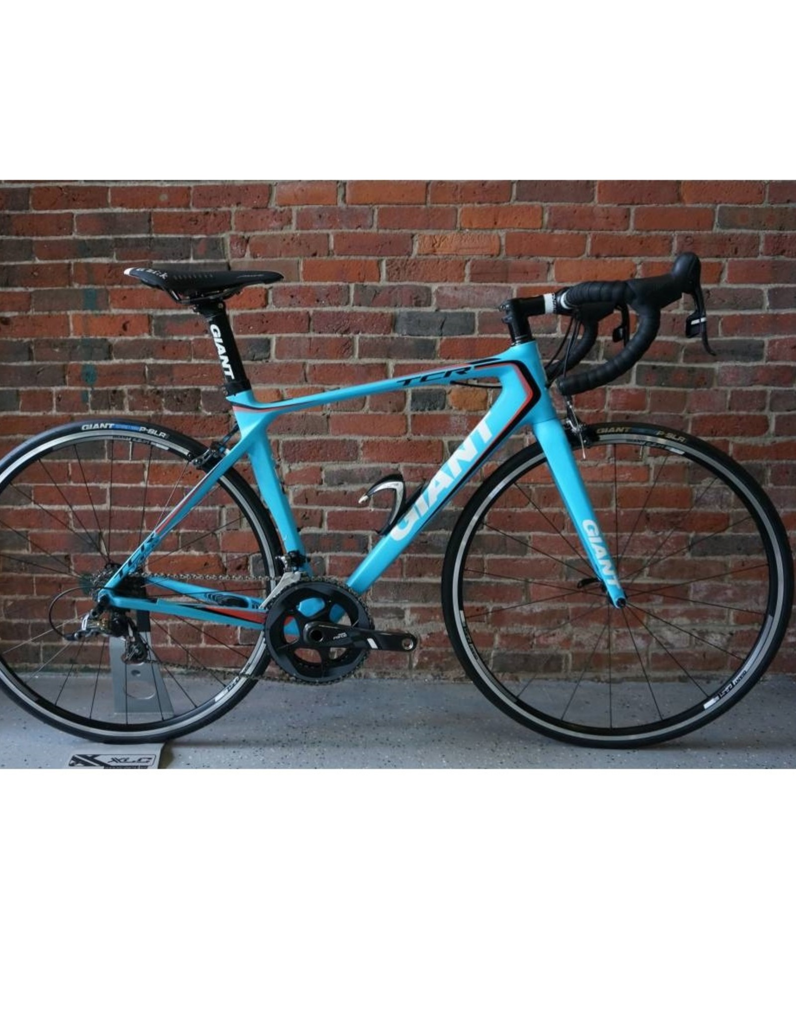 Giant TCR Advanced 1 Force 2014 Bicycle Matte Blue Medium/54cm