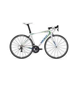 Giant TCR Advanced Pro 1 2015 White/Green/Blue Bicycle