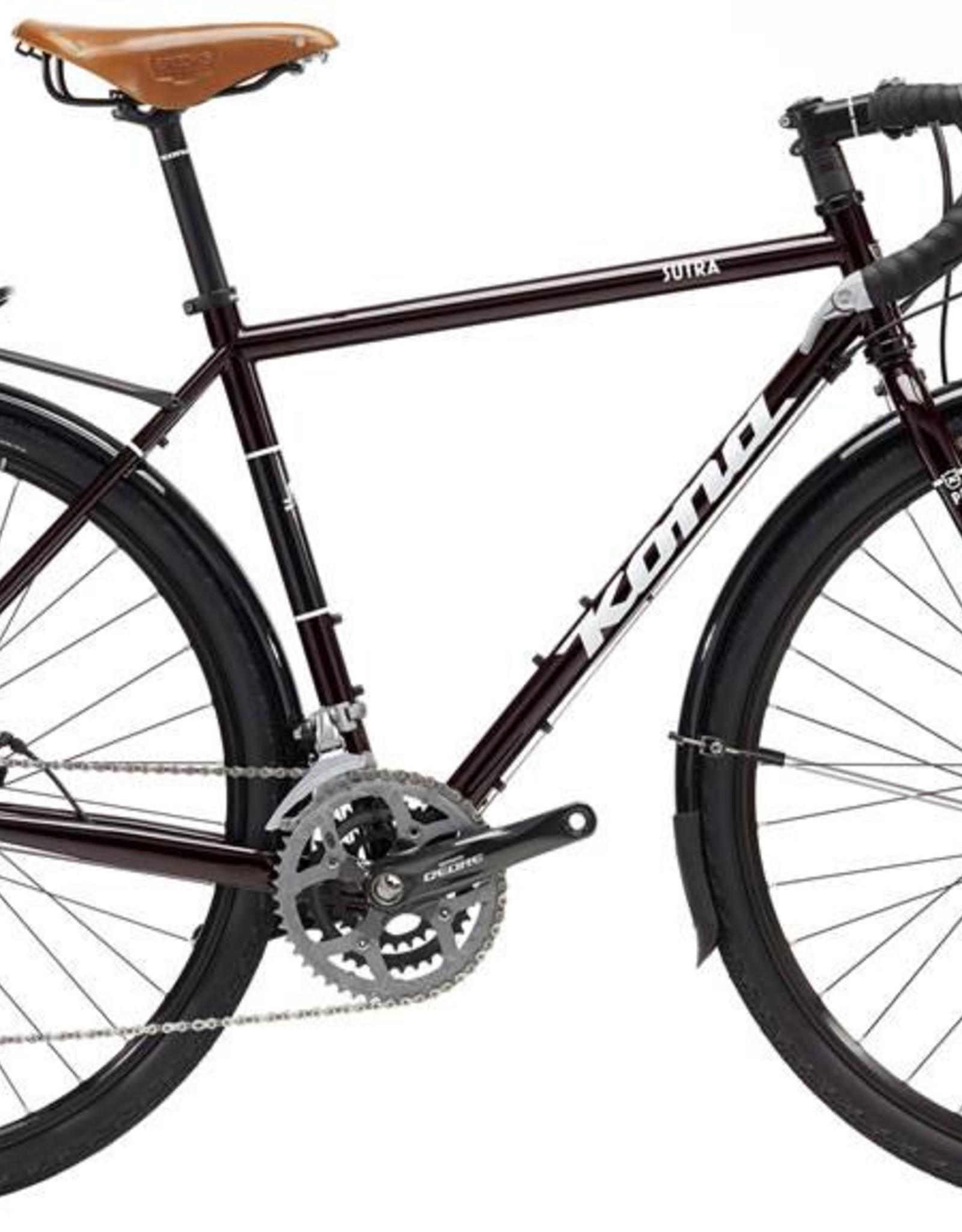 KONA Kona Sutra 2017 Dark Red/Black Bicycle