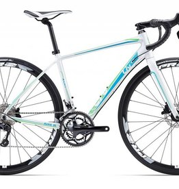 Giant Avail SL 1 Disc 2017 Bicycle Pearl White/Green/Blue S