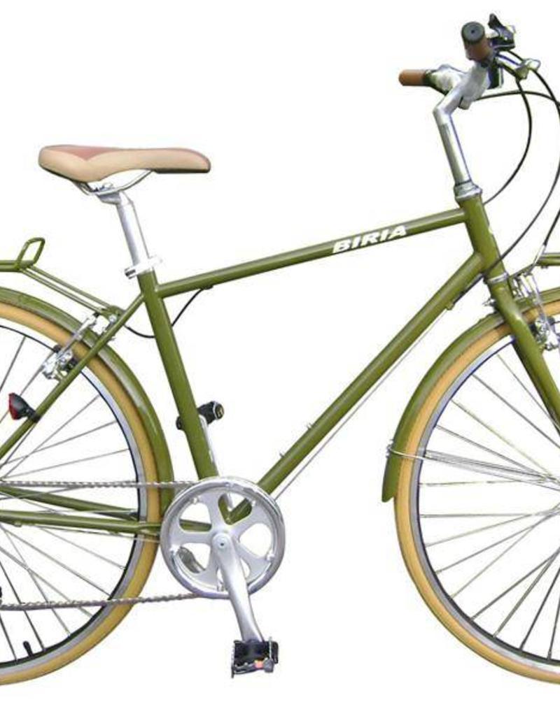 Biria Biria Citibike Men's 8 Speed Olive Green 55cm