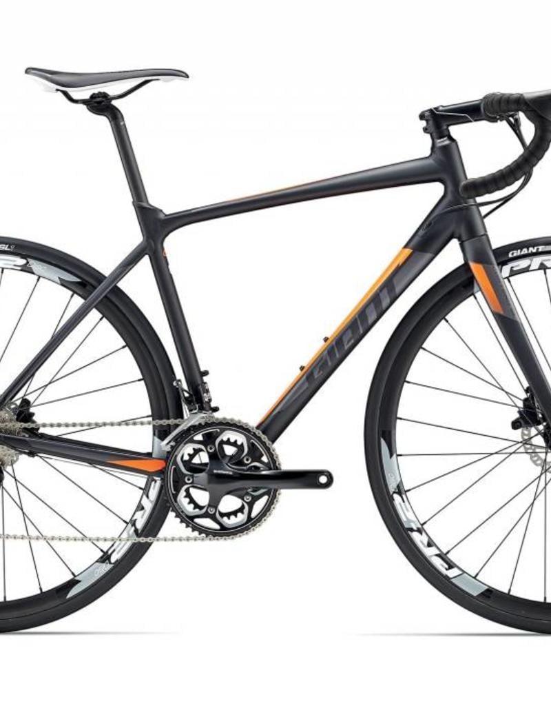 Giant Giant Contend SL 1 Disc L Black/Orange 2017 Bicycle