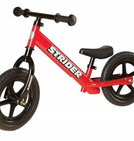 "Strider Sports Strider Sport 12"" Red Balance Bicycle"
