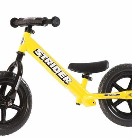"Strider Sports Strider Sport 12"" Yellow Balance Bicycle"