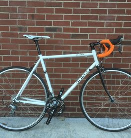 Soma Soma Smoothie White 58cm Custom Bicycle