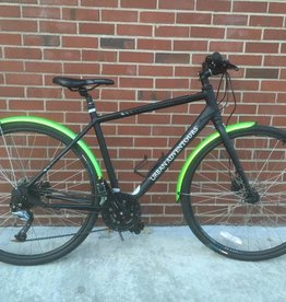 KONA Kona Dew Plus Boston 2016 Matte Black Bicycle