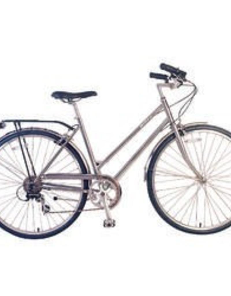 Biria Biria Citibike 3-Speed Ladies Silver Bicycle