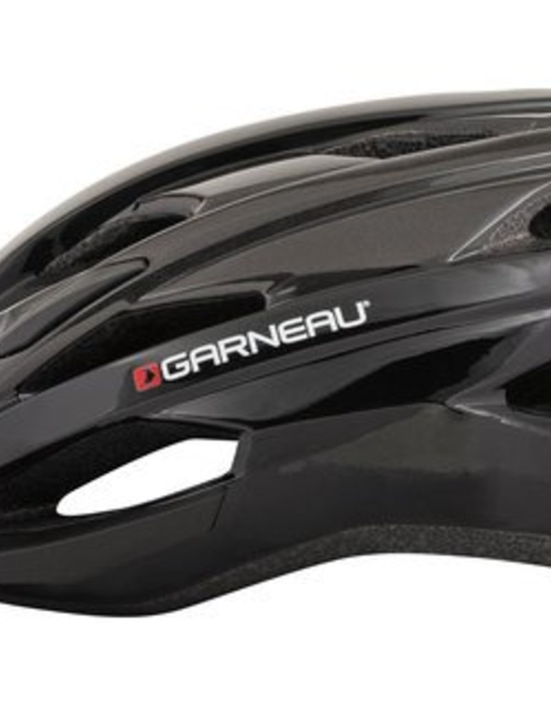 Helmet - Louis Garneau - Majestic Helmet Black/Gray  XL