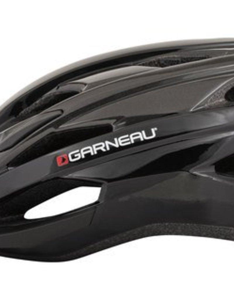 Louis Garneau Helmet - Louis Garneau - Majestic Helmet Black/Gray  XL