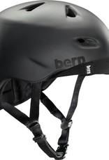 Bern Helmet - Bern Brentwood Summer Matte Black w/ Flip Visor Dial Adjust