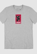 Chrome T-Shirt - Chrome New Lock Up Grey S