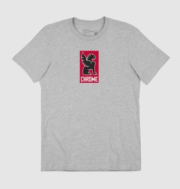Chrome T-Shirt - Chrome New Lock Up Grey S