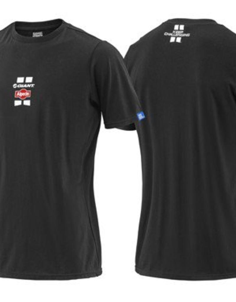Giant T-Shirt - Team Giant-Alpecin Tee Blk/Wht/Red