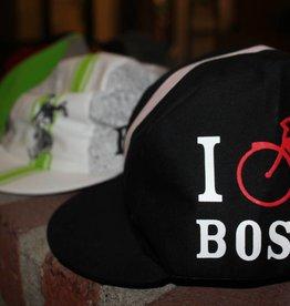 Pace Cap - UA I Bike Boston Black Hat