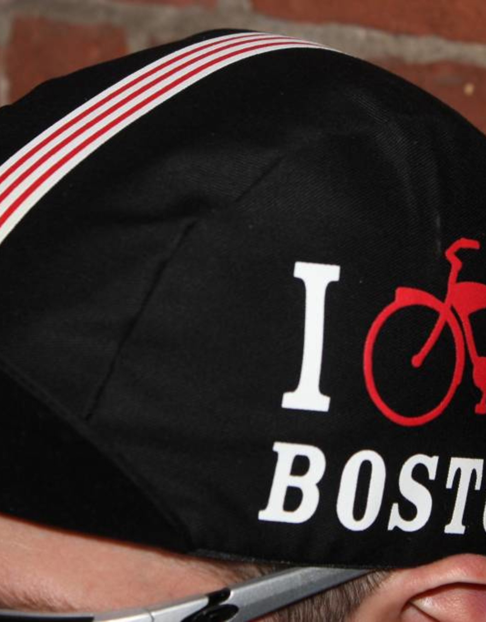 Pace Cap - UA I Bike Boston Black Hat