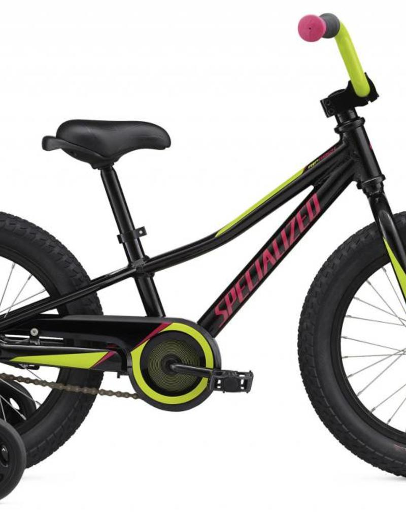 """Specialized Specialized Riprock Coaster 16"""" Black/Green/Pink Bicycle"""