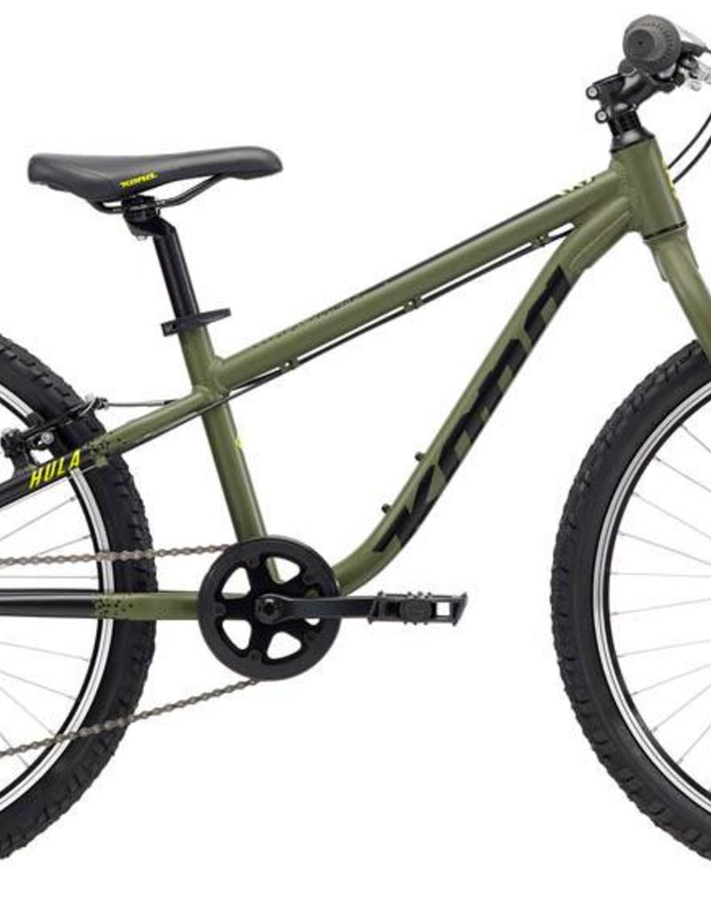 "Kona Hula 2018 24"" Army Green Bicycle"