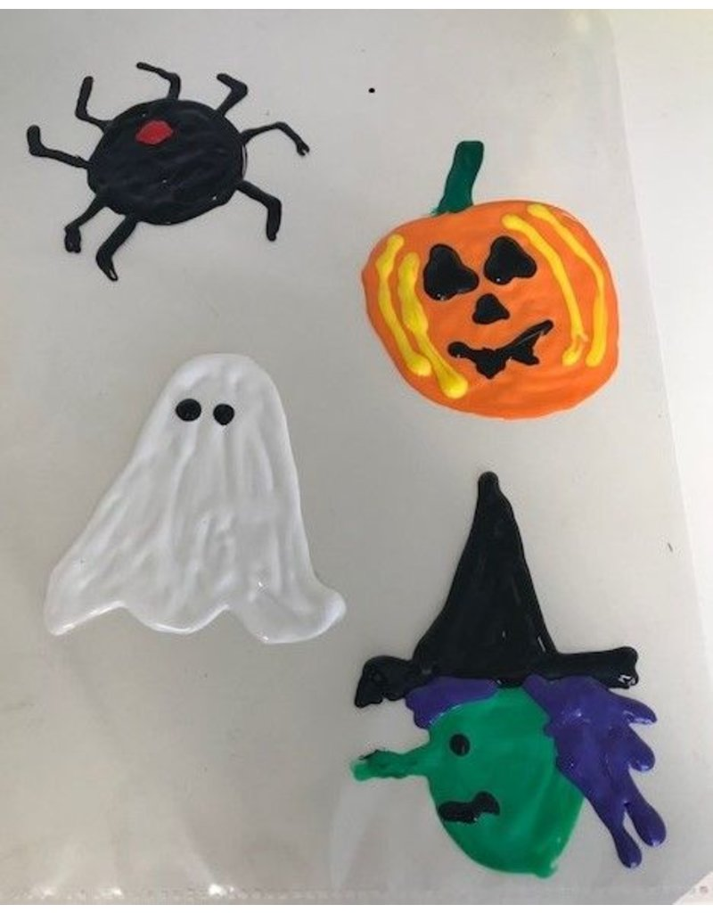 Halloween Window Decorations - Fri. Oct. 11th at 12 pm
