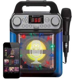 Singing Machine Groove Cube Mini Karaoke Machine- Black
