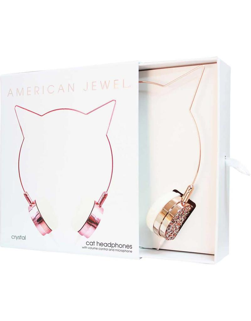 Cat Headphones- Rose Gold