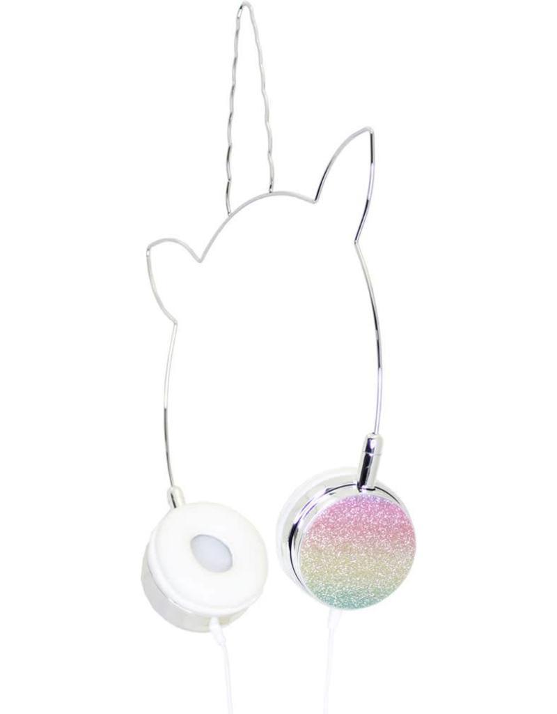 Unicorn Headphones- Confetti