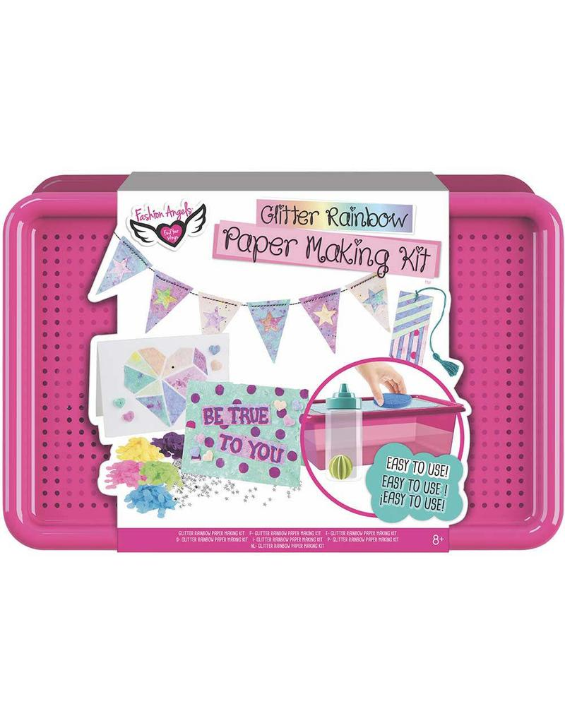 Glitter Rainbow Paper Making Kit