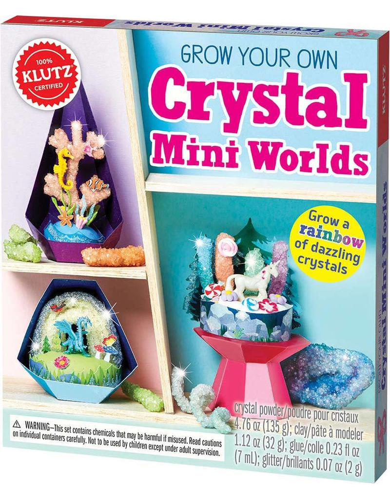 Grow Your Own Crystals Mini Worlds
