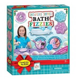 Snowflake Surprise Bath Fizzie Class