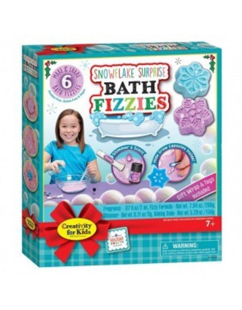 Snowflake Surprise Bath Fizzie Class