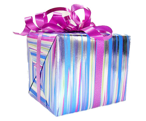 Free gift wrapping available