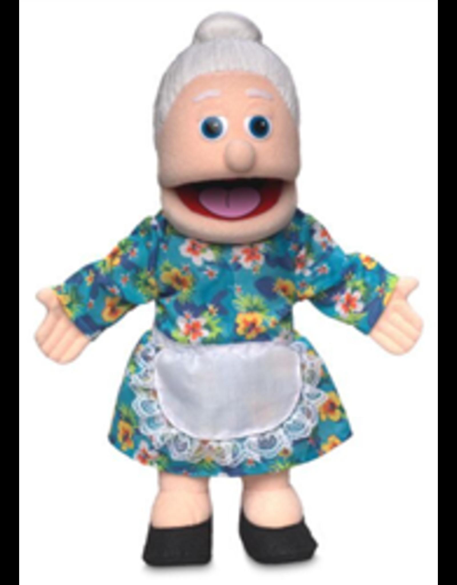 "Granny Peach Puppet 14"""