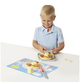 Wooden Flip & Serve Pancake Set