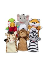 Safari Puppet Set (6 Pc)