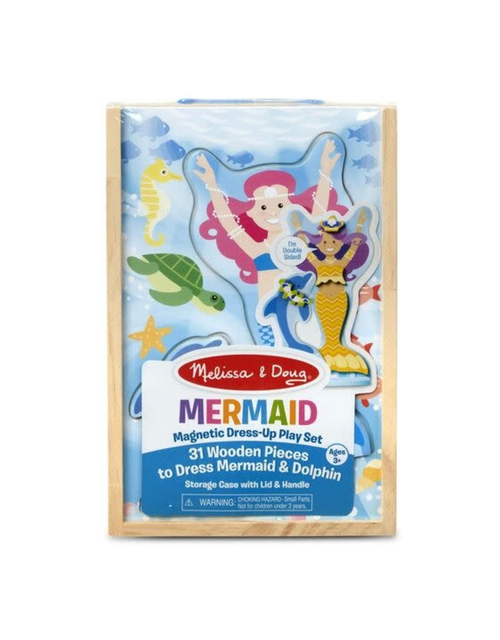 Mermaid Magnetic Dress-Up Play Set