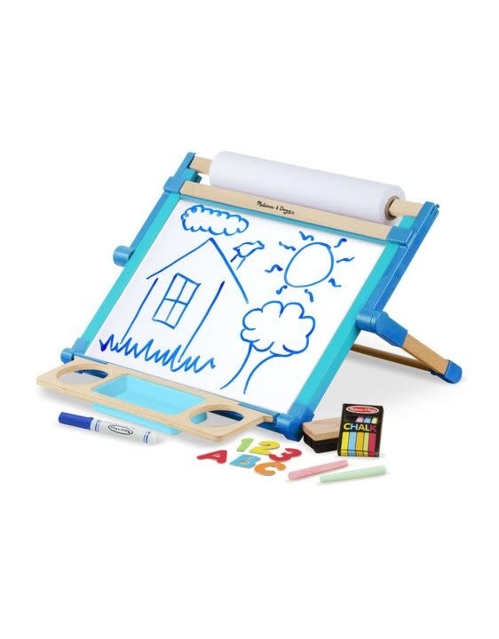 Deluxe Double Tabletop Easel