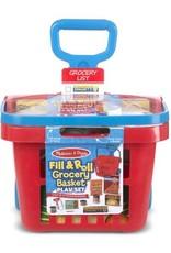 Rolling Grocery Basket