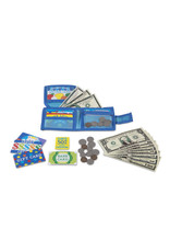 Melissa & Doug Pretend-to-Spend Wallet
