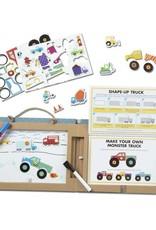 Play, Draw, Create - Trucks