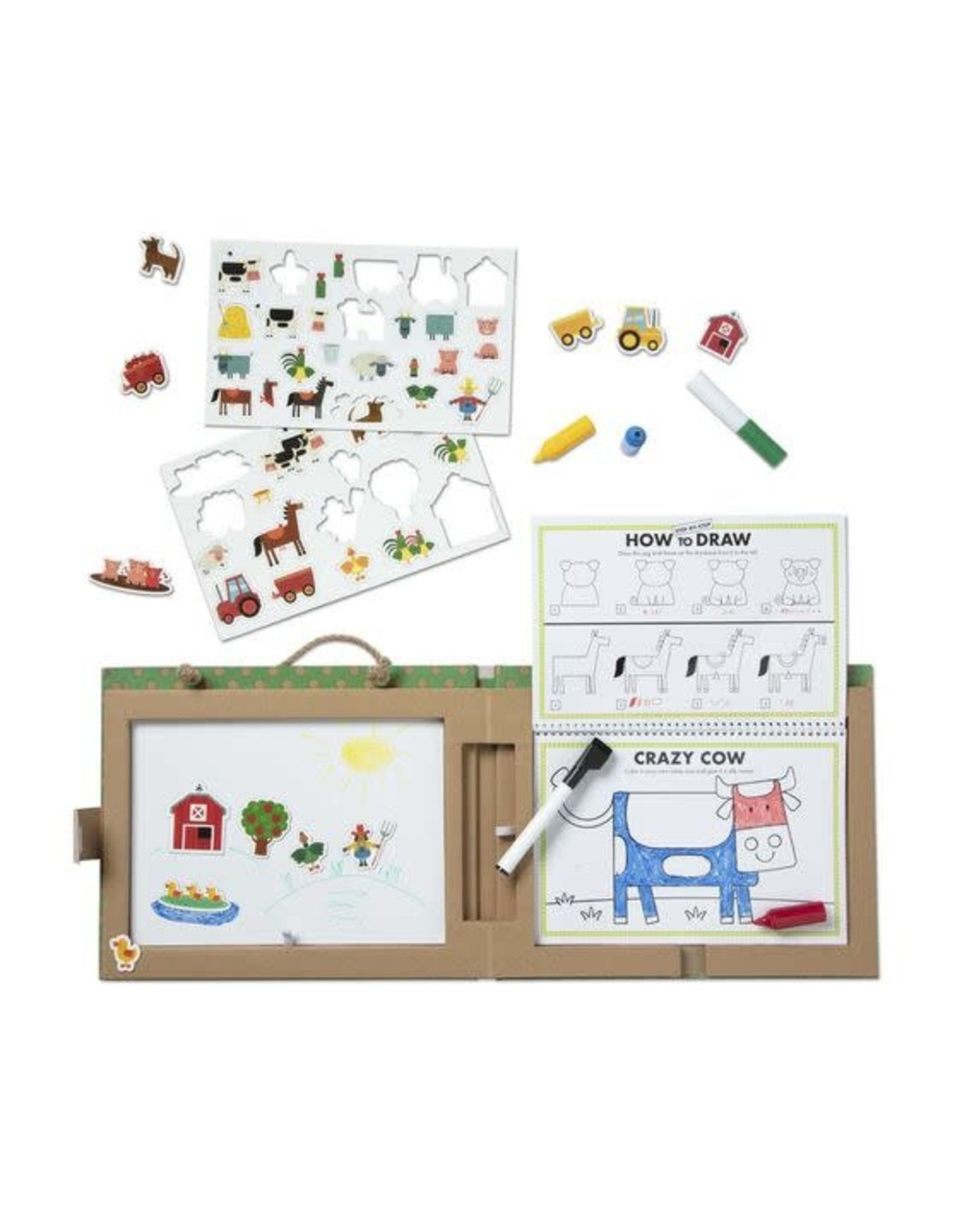 Play, Draw, Create - Farm Fun