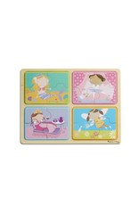 NP Wooden Puzzle: Little Princess